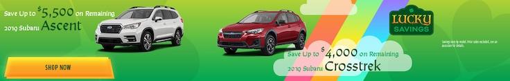 New 2019 Subaru Ascent & Crosstrek - March