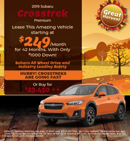 New 2019 Subaru Crosstrek - Oct '19
