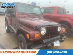 2003 Jeep Wrangler Sahara SUV