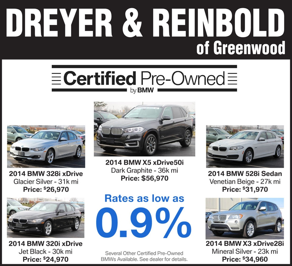 Dreyer And Reinbold Greenwood In >> Dreyer & Reinbold BMW | New BMW dealership in Greenwood, IN 46143