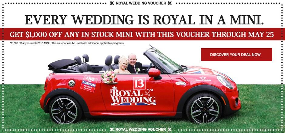 Dreyer Reinbold Mini Celebrates Royal Wedding Dreyer Reinbold Mini
