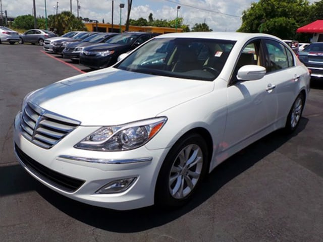 Used 2013 Hyundai Genesis Sedan For Sale   West Palm Beach FL