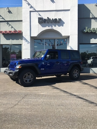 new 2018 Jeep Wrangler UNLIMITED SPORT S 4X4 Sport Utility for sale in Mayfield Ky