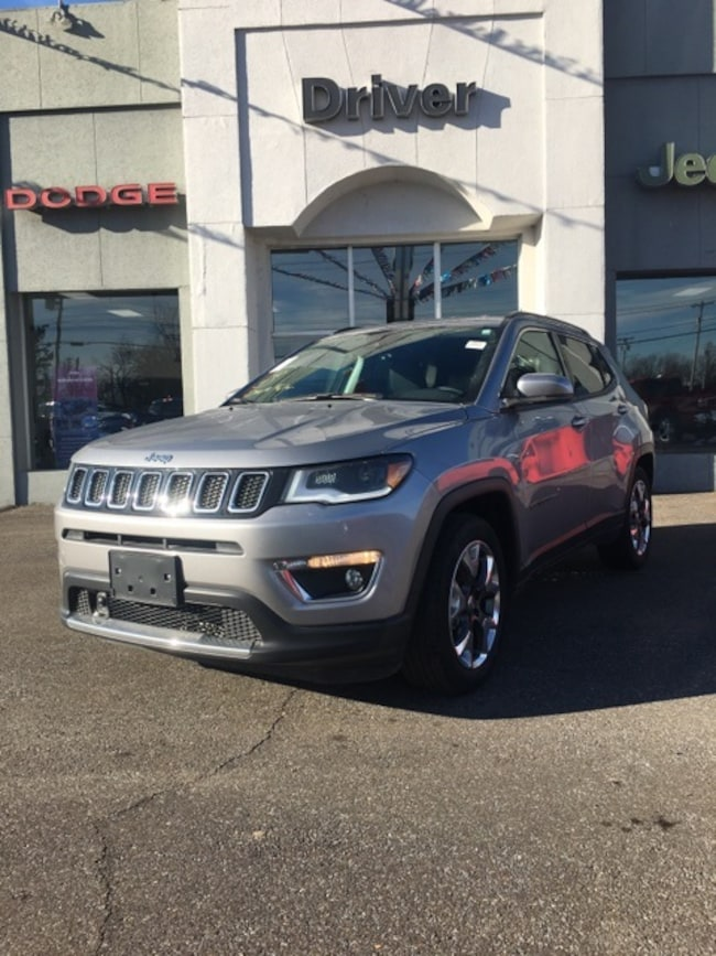 used 2018 Jeep Compass Limited FWD SUV for sale in Paducah