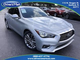 Used Vehicles for sale 2018 INFINITI Q50 3.0t LUXE Sedan in Sanford, FL