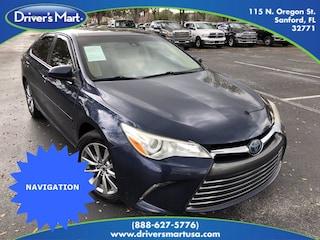 Used Vehicle for sale 2015 Toyota Camry Hybrid XLE Sedan in Winter Park near Sanford FL