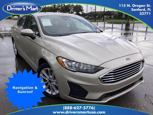 Used Vehicle for sale 2019 Ford Fusion Hybrid SE Sedan in Winter Park near Sanford FL