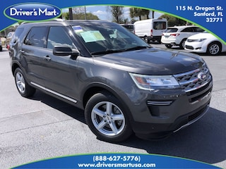 Used Vehicle for sale 2018 Ford Explorer XLT SUV in Winter Park near Sanford FL
