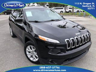Used Vehicle for sale 2018 Jeep Cherokee Latitude SUV in Winter Park near Sanford FL