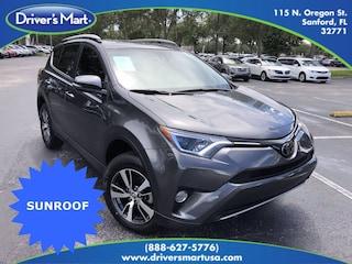 Used Vehicle for sale 2018 Toyota RAV4 XLE SUV in Winter Park near Sanford FL