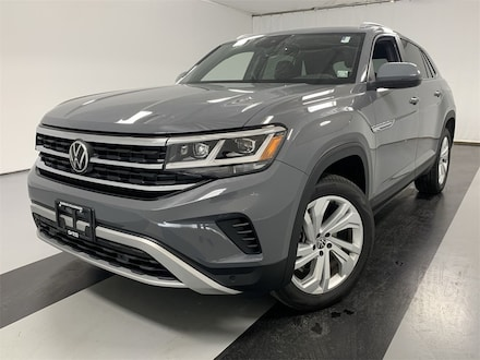 Featured used 2020 Volkswagen Atlas Cross Sport 3.6L V6 SEL 4MOTION SUV for sale in Cicero, NY