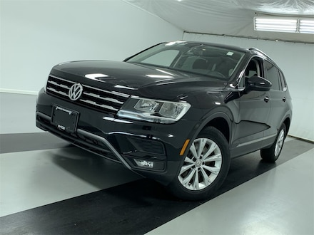 Featured Certified Pre-Owned 2018 Volkswagen Tiguan 2.0T SEL SUV for Sale in Cicero, NY