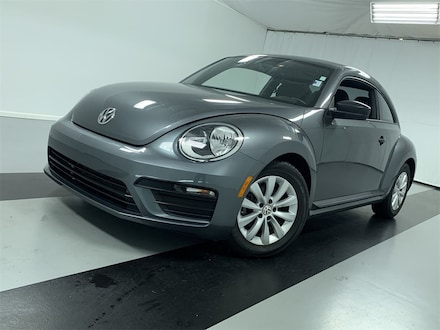 Featured Certified Pre-Owned 2018 Volkswagen Beetle 2.0T S Hatchback for Sale in Cicero, NY
