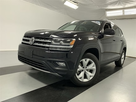 Featured Certified Pre-Owned 2018 Volkswagen Atlas 3.6L V6 SE w/Technology 4MOTION SUV for Sale in Cicero, NY