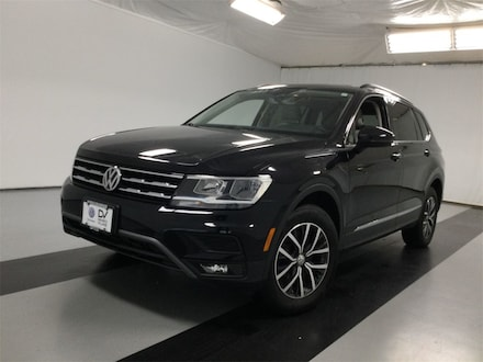 Featured Certified Pre-Owned 2018 Volkswagen Tiguan 2.0T SE 4MOTION SUV for Sale in Cicero, NY