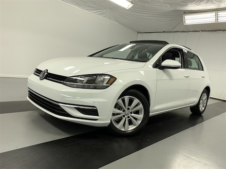 Featured Certified Pre-Owned 2021 Volkswagen Golf 1.4T TSI Hatchback for Sale in Cicero, NY