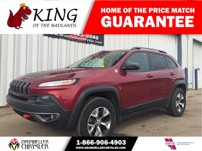 2015 Jeep Cherokee Trailhawk - ONE OWNER! SUV