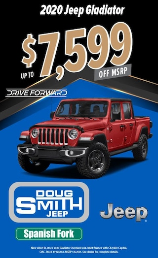 2020 Jeep Gladiator up to $7,599 off MSRP