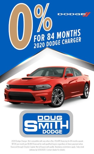 0% for 84 Months on 2020 Dodge Charger at Doug Smith