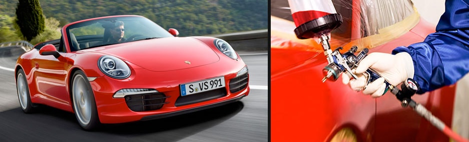 Porsche Downtown LA New Porsche Dealership In Los Angeles CA - Porsche collision repair