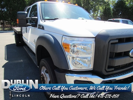 2013 Ford F-550 Chassis Cab XL Chassis Truck