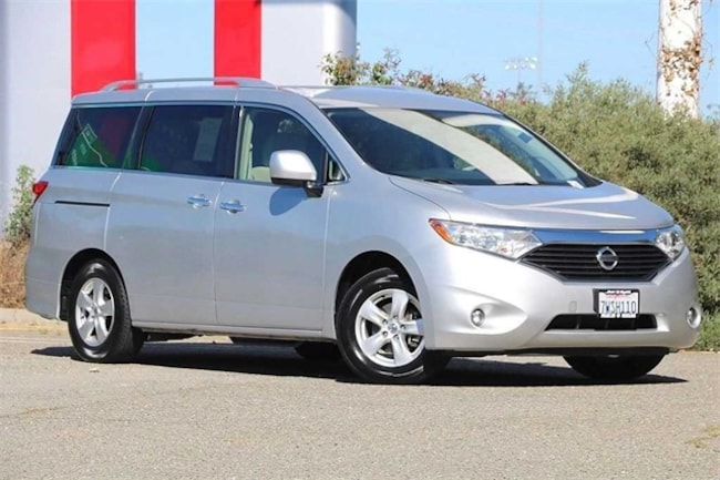 Certified Pre Owned 2017 Nissan Quest SV Van Passenger For Sale In Dublin