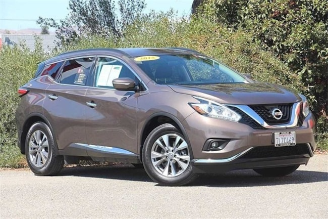 Certified Pre-Owned 2015 Nissan Murano SUV SV Java For Sale in ...