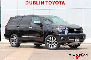 New 2018 Toyota Sequoia Limited SUV T25803 for sale in Dublin, CA