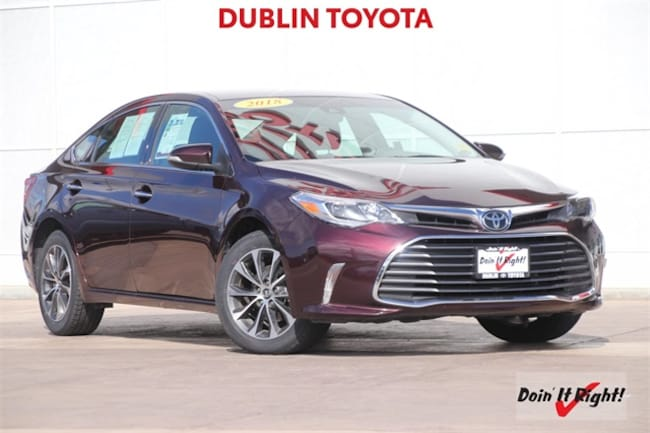 2018 Toyota Avalon XLE Sedan 26484A in Dublin, CA