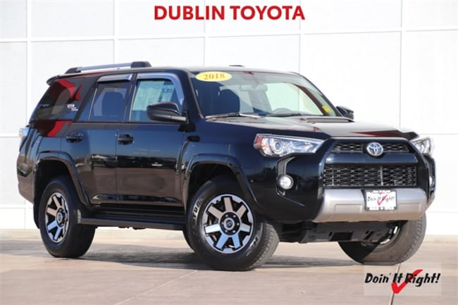 2018 Toyota 4Runner TRD Off-Road SUV DR0694A in Dublin, CA