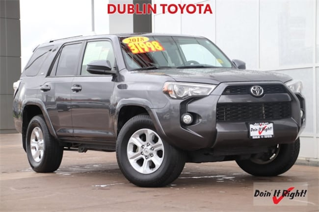 Certified Pre-Owned 2018 Toyota 4Runner SR5 SUV 26549A for sale in Dublin, CA