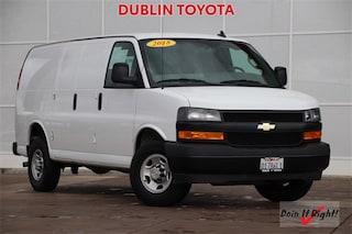 2018 Chevrolet Express 2500 Work Van Cargo Van 1GCWGAFP5J1216163 for sale in near Fremont, CA