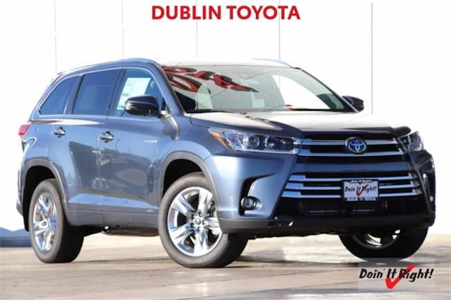 New 2019 Toyota Highlander Hybrid Limited V6 SUV T28211 for sale/lease Dublin, CA