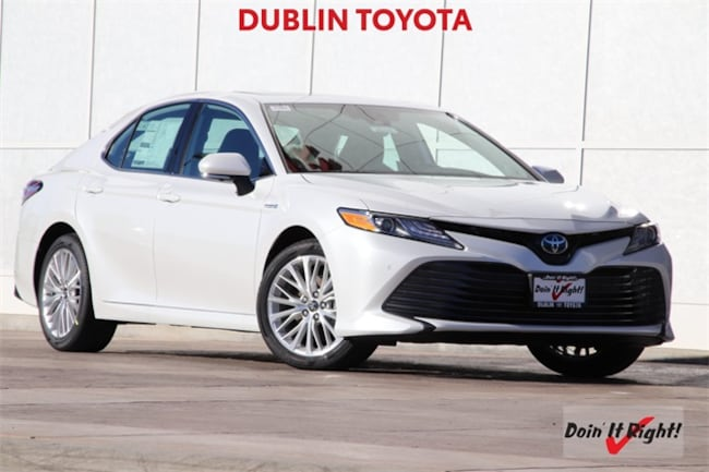 New 2019 Toyota Camry Hybrid XLE Sedan T28225 for sale/lease Dublin, CA
