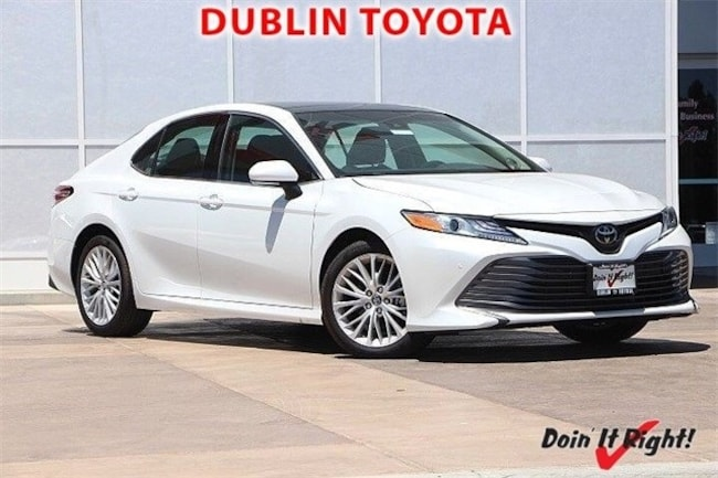 New 2018 Toyota Camry XLE V6 Sedan in Dublin, CA