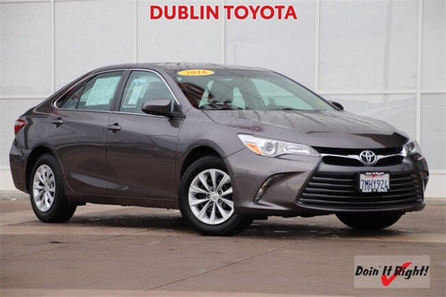 Certified Pre-Owned 2015 Toyota Camry LE Sedan 26429A for sale in Dublin, CA