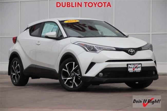2018 Toyota C-HR XLE Premium SUV 26479A in Dublin, CA