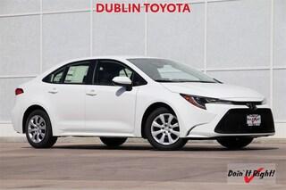 New 2020 Toyota Corolla LE Sedan T32511 for sale in Dublin, CA