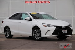 Certified Pre-Owned 2016 Toyota Camry SE Sedan T27098A for sale in Dublin, CA
