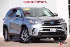 Used Toyota Hybrid 2019 Toyota Highlander Hybrid XLE SUV T35296A for Sale in Dublin CA