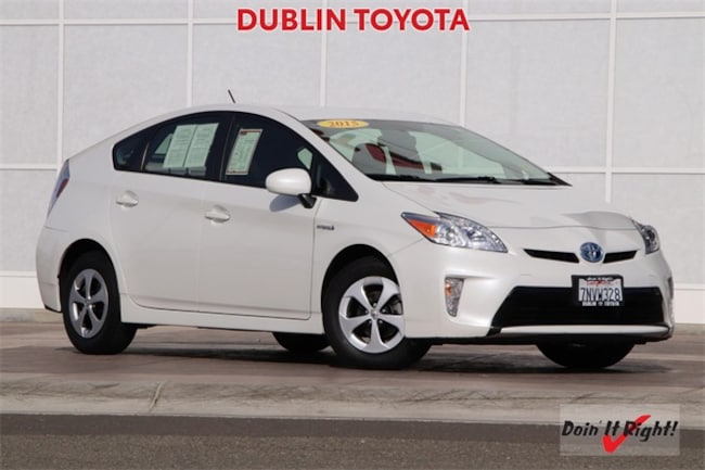 Certified Pre-Owned 2015 Toyota Prius Two Hatchback 26393A for sale in Dublin, CA