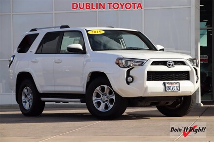 Featured Used 2019 Toyota 4Runner SR5 SUV for Sale  near Fremont, CA