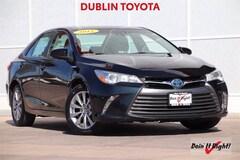 Used Toyota Hybrid 2015 Toyota Camry Hybrid LE Sedan T35557A for Sale in Dublin CA