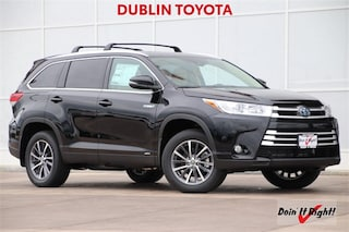 New 2019 Toyota Highlander Hybrid XLE V6 SUV 5TDJGRFH3KS056385 for Sale in Dublin, CA near Livermore