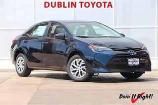 New 2019 Toyota Corolla LE Sedan T26777 for sale in Dublin, CA