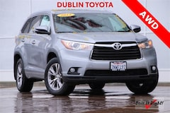 Certified Pre-Owned 2015 Toyota Highlander XLE V6 SUV 26370A for sale in Dublin, CA