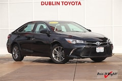 Certified Pre-Owned 2016 Toyota Camry SE Sedan 26428A for sale in Dublin, CA