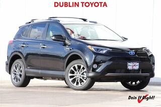 New 2018 Toyota RAV4 Hybrid Limited SUV T28015 for sale in Dublin, CA