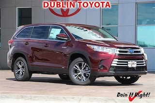 New 2019 Toyota Highlander Hybrid LE V6 SUV for sale in Dublin, CA