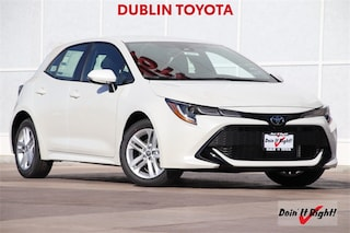 New 2019 Toyota Corolla Hatchback SE Hatchback T28627 for sale in Dublin, CA